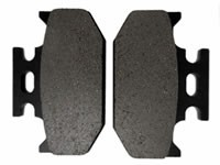 Kawasaki KLX650R Rear Brake Pad 1993-1996