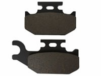 Yamaha YFM700 Raptor Rear Brake Pad 2006-2012